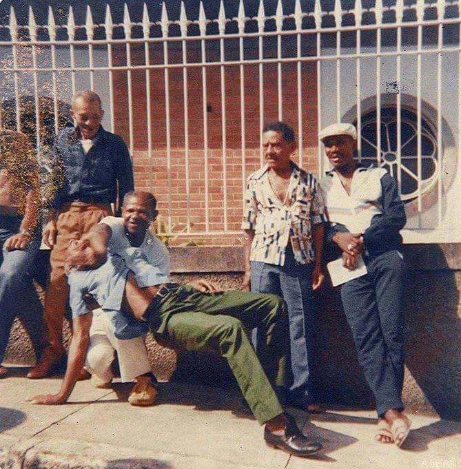 Capoeira History Legends (Joao Pequeno, Joao Grande, Paulo dos Anjos, Waldemar)