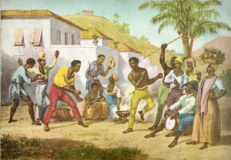 First Representation of Capoeira