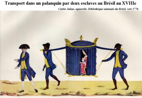 Palanquin - Brazil 1770