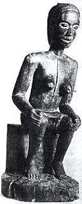 Mbundu Statue