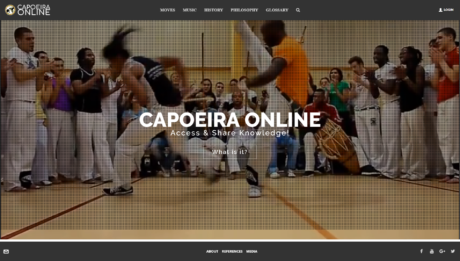 Capoeira Online Screenshot
