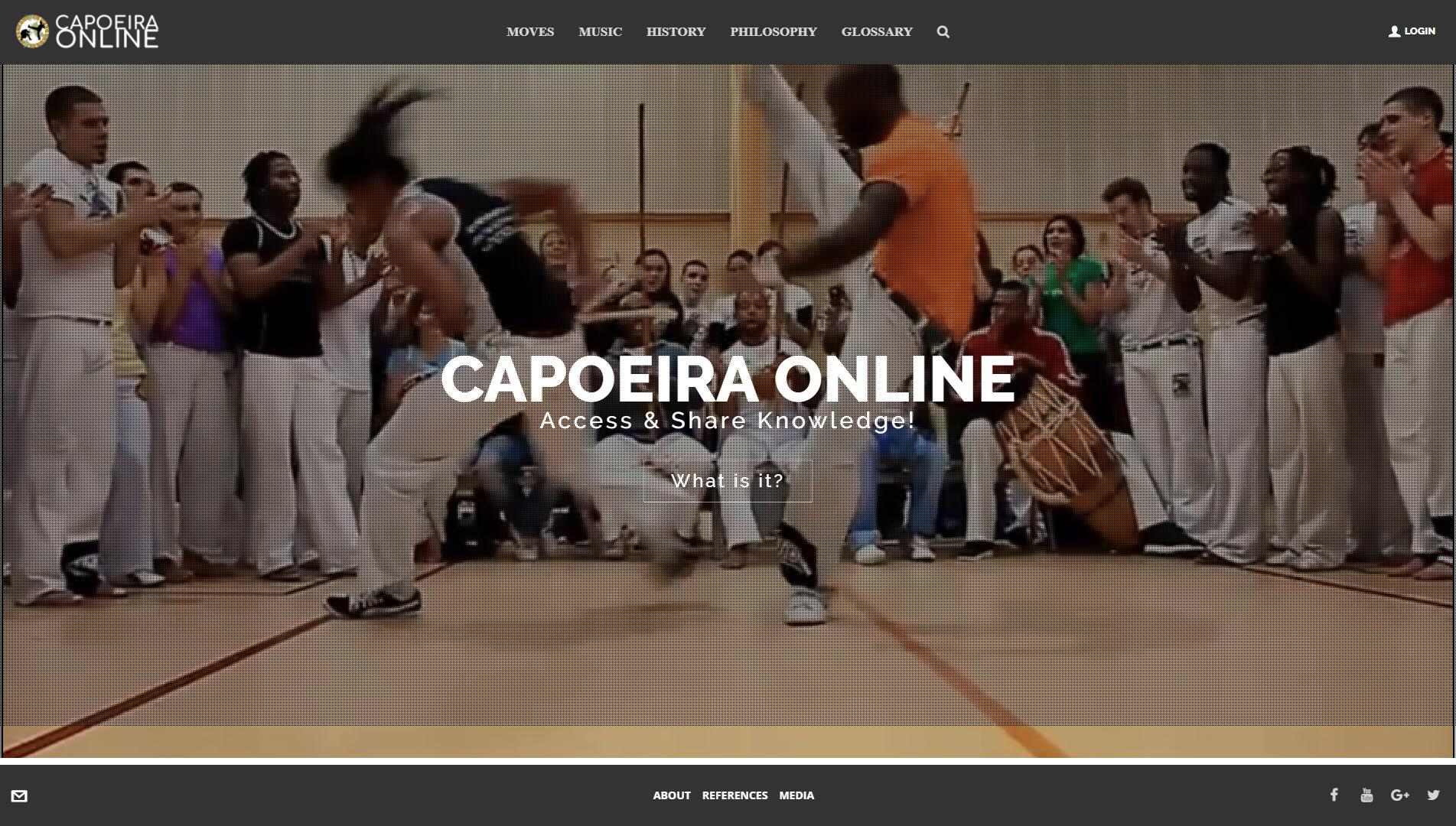 Capoeira Online Screenshot